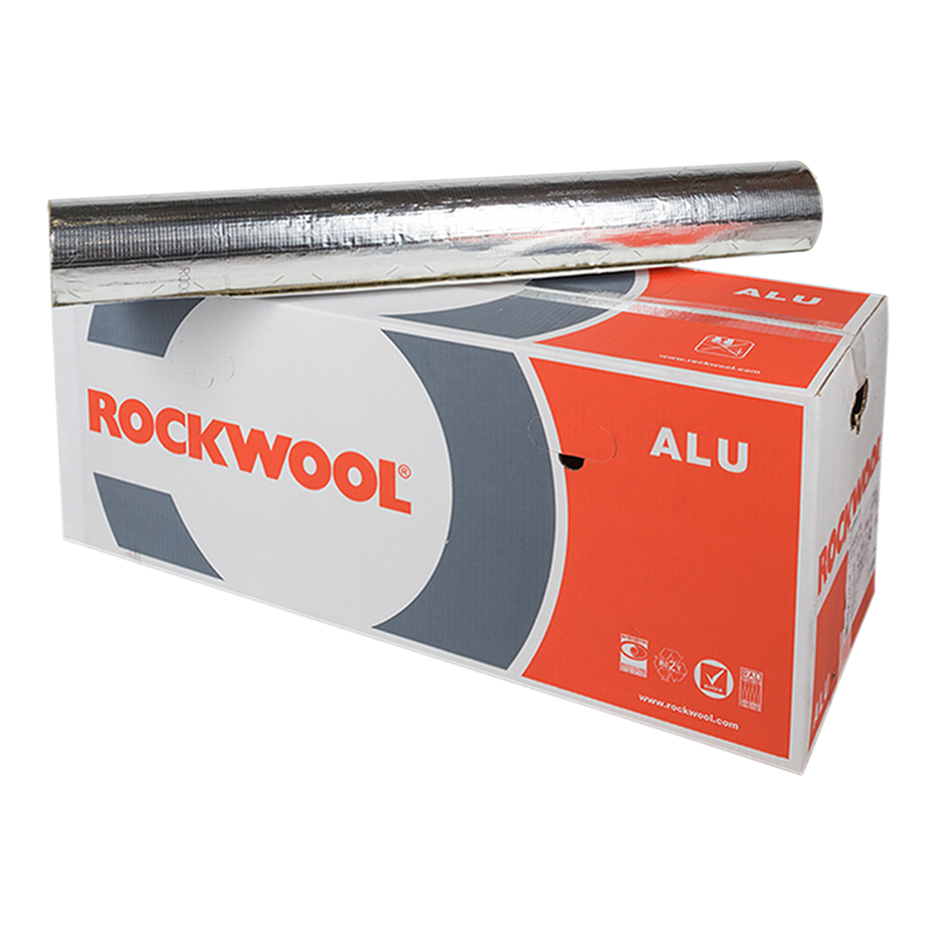 Rockwool 810 pipe section ALU