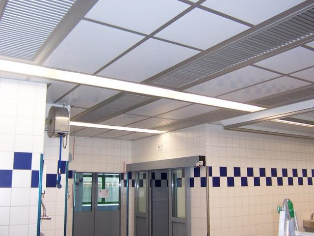 Isoleco 1000/2000 acoustic ceiling system