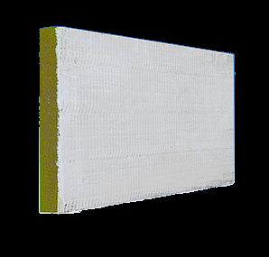 B.i.o. Mineralfaserplatte vorbeschichtet mit Flammoplast